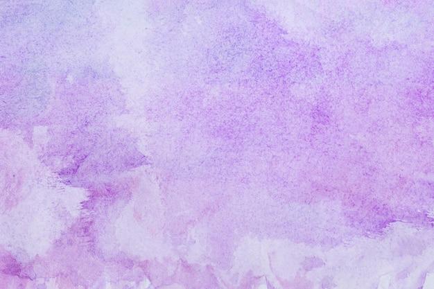 Aquarelle art main peinture fond violet