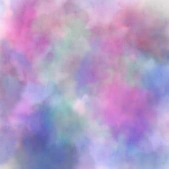 Aquarelle colorée abstraite pour le fond, peinture numérique dessinée à la main