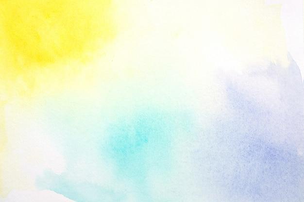 Aquarelle colorée