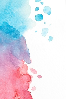 Aquarelle sur composition de texture de papier