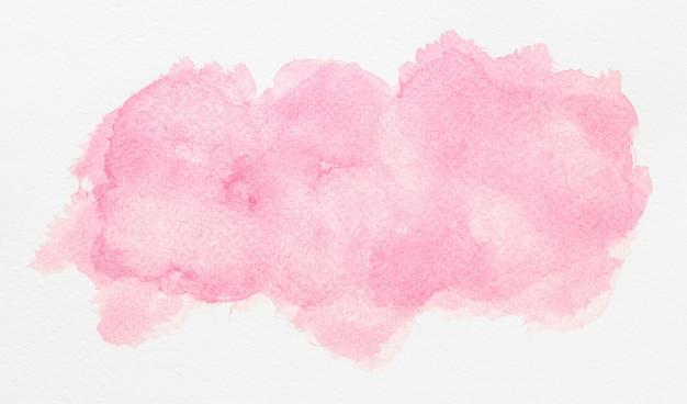 Aquarelle copie espace peinture rose clair