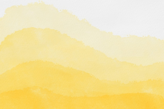 Aquarelle de fond abstrait art couleurs jaune clair et or