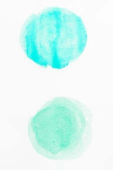 Aquarelle fond abstrait cercles