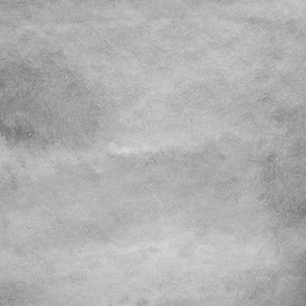 Aquarelle fond, art abstrait aquarelle grise dessin texturé sur fond de papier blanc