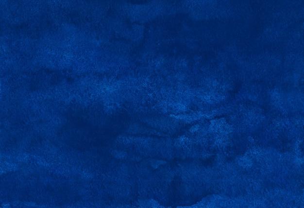 Aquarelle fond bleu royal profond