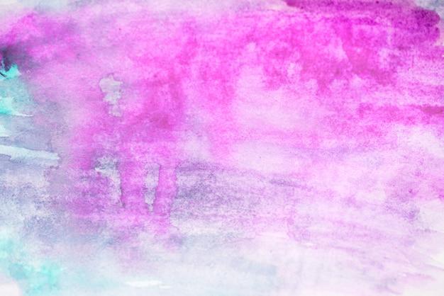 Aquarelle de fond, couleur pourpre. taches d'aquarelle pourpres brillantes