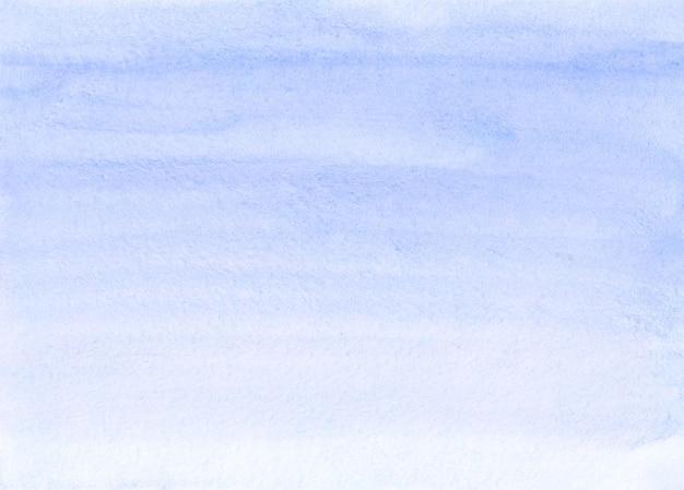 Aquarelle fond dégradé bleu pastel peint à la main. texture gris bleu clair aquarelle.