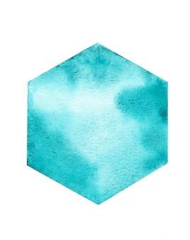 Aquarelle fond géométrique