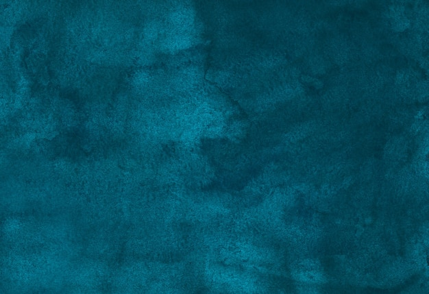 Aquarelle fond vieux bleu paon profond