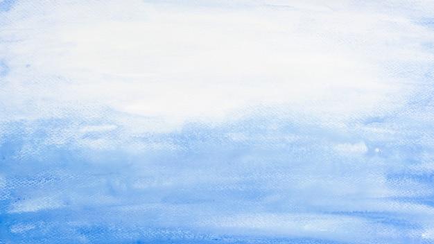 Aquarelle marine bleue