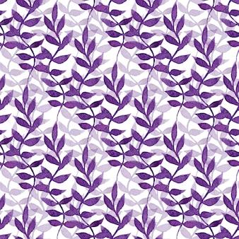 Aquarelle motif floral sans soudure. peinture à la main. peut être utilisé pour l'emballage, le textile, le papier peint et l'emballage