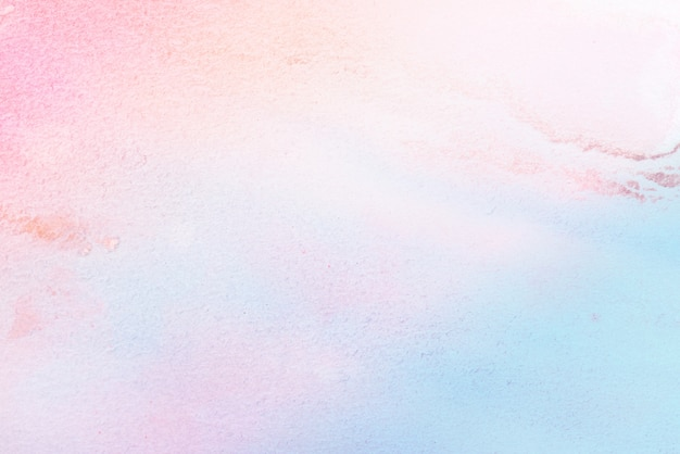 Aquarelle pastel art sur fond de papier