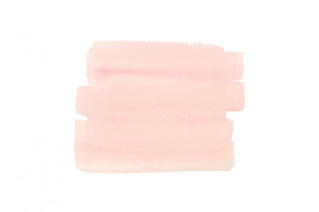 Aquarelle rose pour un fond abstrait.