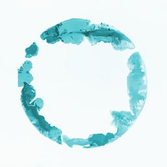 Aquarelle tache bleu clair