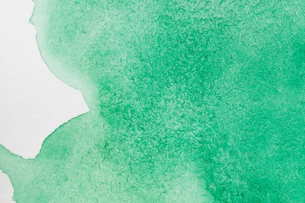 Aquarelle technique fait main vert smokey