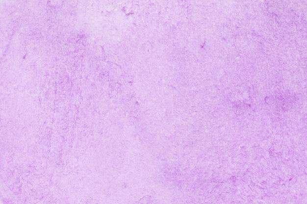Aquarelle technique violette à la main