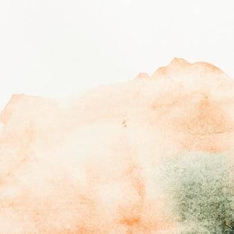 Aquarelle tons saumon peinture abstrait
