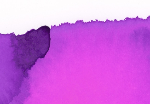 Aquarelle violette et rose