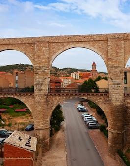L'aqueduc de los arcos en été