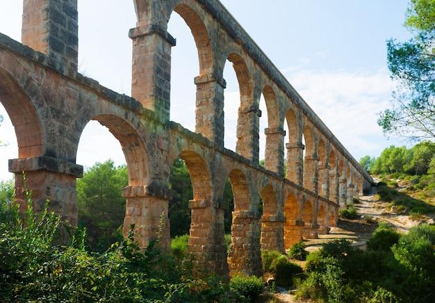 Aqueduc romain à tarragone