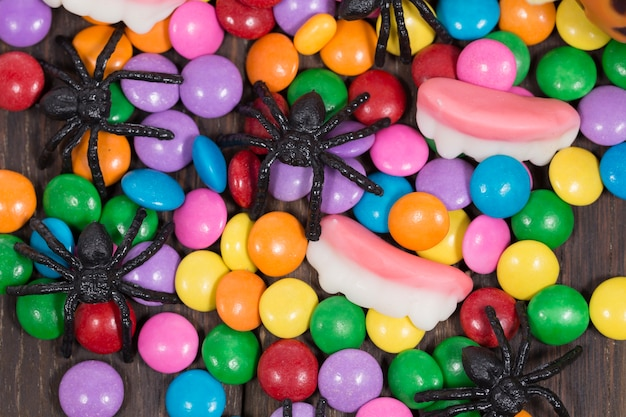 Araignées et bonbons