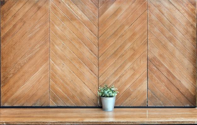 Arbre mur décoration table en bois mur jardin