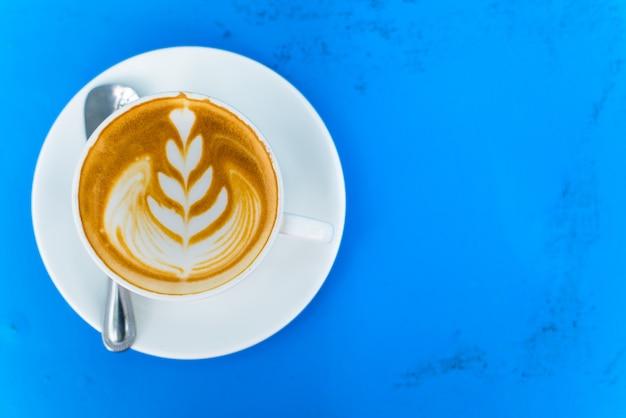 Arbre de photo de café chaud frais