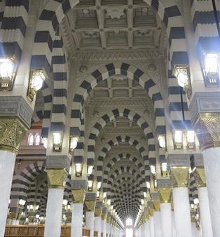 Arch architecture islamique à la mecque photo de haute qualité