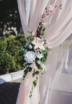 Arche pour la cérémonie de mariage