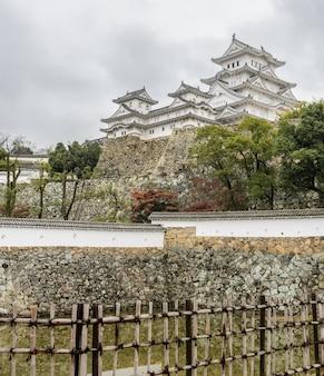 Architecture ancienne du château de himeji dans la préfecture de hyogo, japon