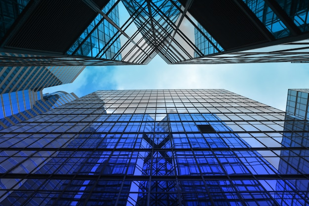 Architecture de bâtiment moderne