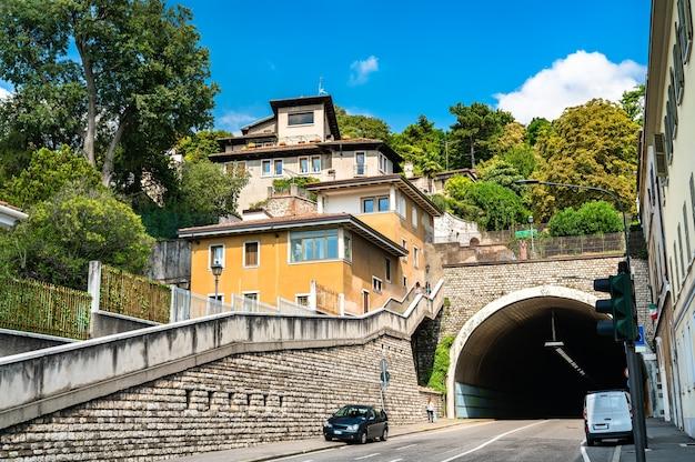 Architecture de brescia en italie