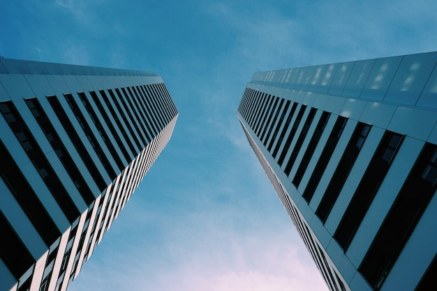 L'architecture du bâtiment dans la ville