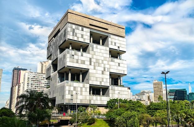 Architecture du centre-ville de rio de janeiro