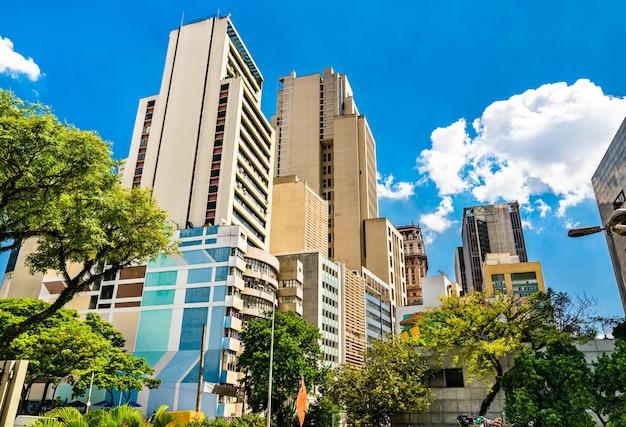 Architecture du centre-ville de sao paulo au brésil