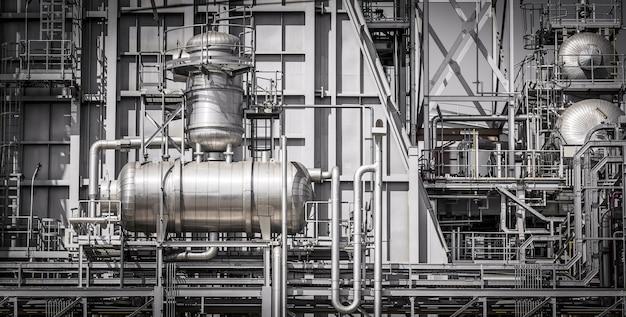 Architecture du système de tuyauterie de centrale pour l'industrie