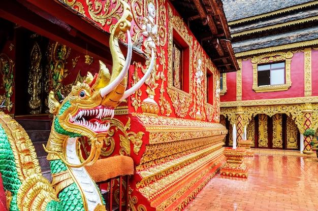 Architecture du temple xishuangbanna