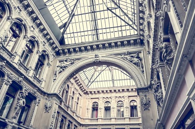 Architecture du vieux couloir