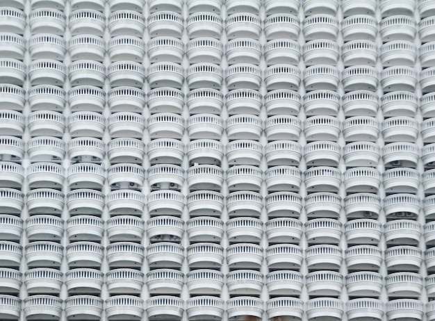 Architecture extérieure avec rampe