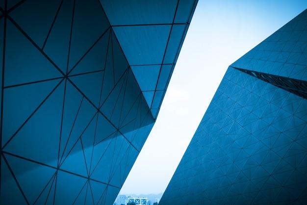 Architecture moderne du centre d'art