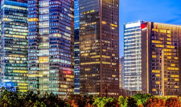 Architecture moderne de paysage urbain