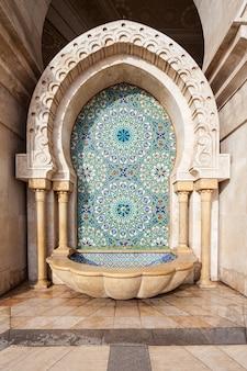 Architecture de la mosquée hassan