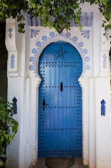 Architecture de la porte de chefchaouen