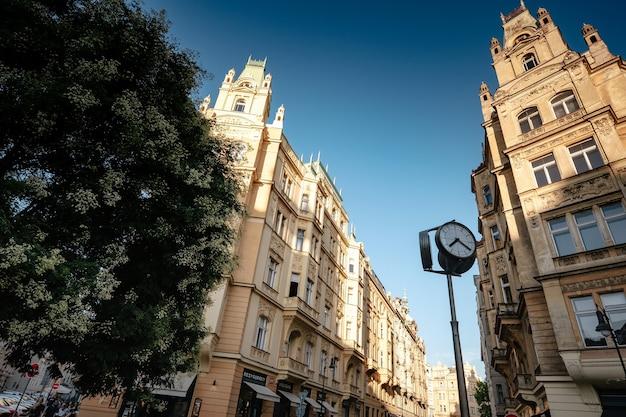 L'architecture de la vieille ville de prague