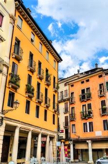 Architecture de la vieille ville de vicence italie