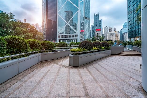 Architecture de la ville de hong kong