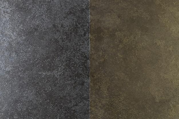 Ardoise foncée à texture grossière et deux couleurs