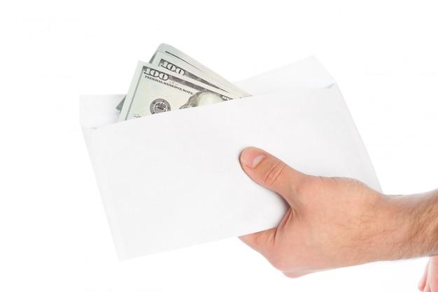 Argent dans une enveloppe, corruption.