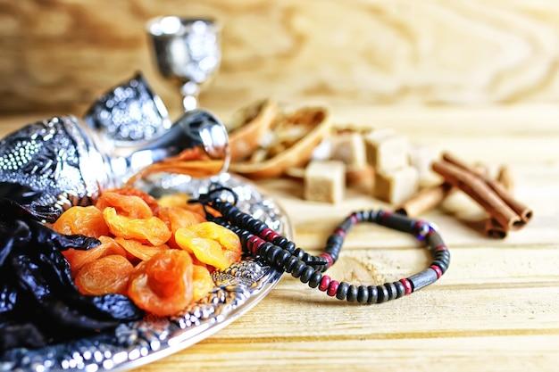 Argent de fruits secs d'arabie