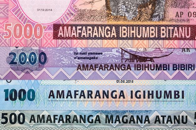 Argent rwandais - franc une surface d'affaires